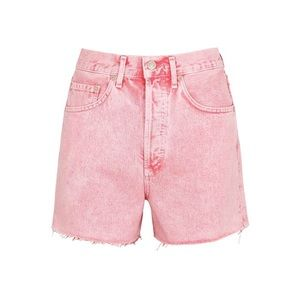 *nwt* agolde • 'dee' super hi rise shorts potion